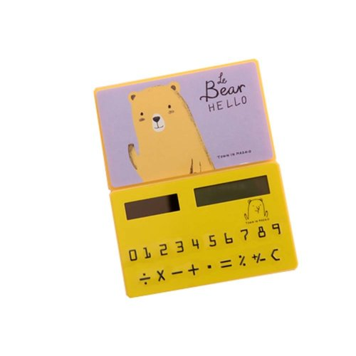 Ultra - thin Cute Mini Office Student Portable Calculator/Kids toys,A3