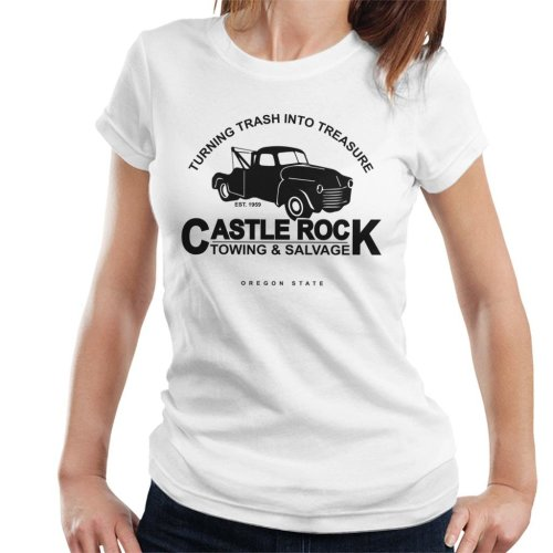Castle Rock Towing And Salvage Stand By Me Women's T-Shirt