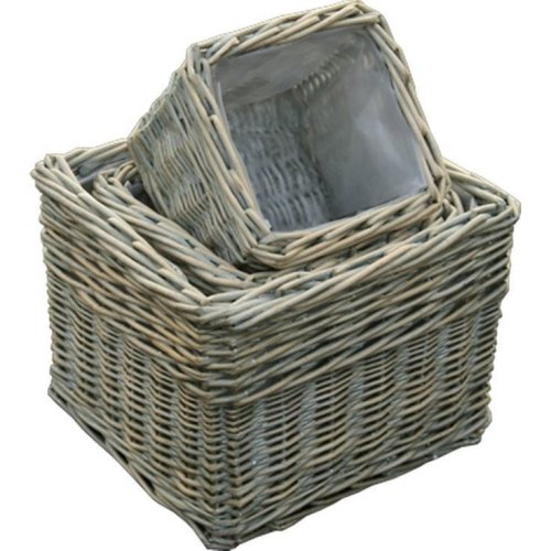 Provence Square Garden Planters Set of 3