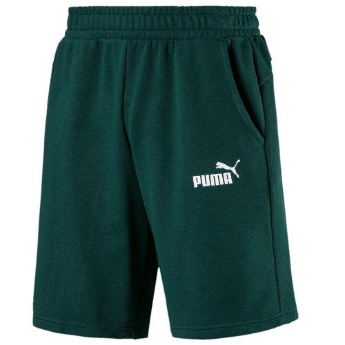 Puma Amplified Mens 9'' Running Fitness Training Short Green