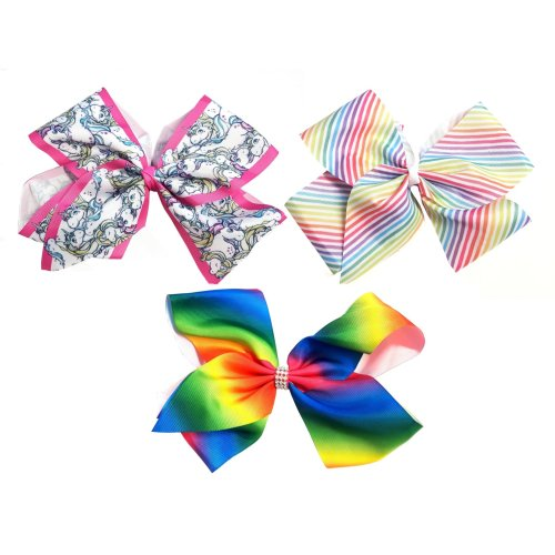Shimmers Extra Large Hair Bows | Ribbon Hair Clip