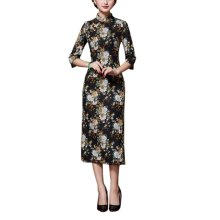 Elegant Oriental Cheongsam Qipao Chinese Style Costume Dresses, #01