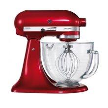 KitchenAid 5KSM156BCA Artisan Stand Mixer 4.8 Litre Glass Bowl Candy Apple Red