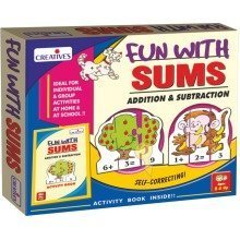 Cre0694 - Creative School - Fun with Sums-addition & Subtraction