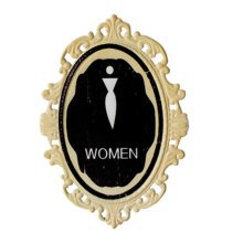 Decorative Wall Hanging Wall Accent Wall Door Hanging Plaques Women Sign