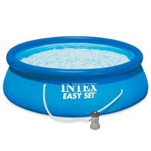 "Intex 12Ft X 30"" Easy Set Swimming Pool with Filter Pump #28132"
