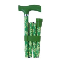 Switch Sticks Essentials- Leaf Green/lime Green -  adjustable folding walking stick green switch sticks essentials leaf lime design designer bag rest