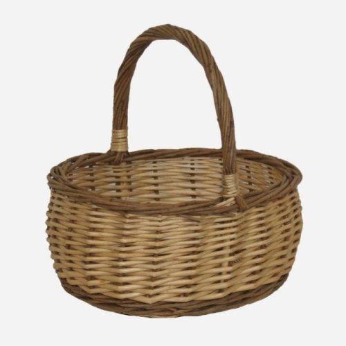 Shopping Basket Two Tone Mini Shopper