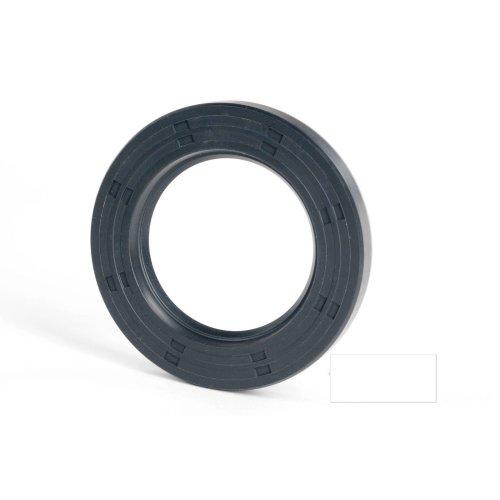 6x12x5mm Oil Seal Nitrile R21 Single Lip Springless 5 Pack