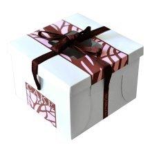 [Belle] 5 Sets Paper Cake Carrier Cake Box, Home Baker, Baking Supply