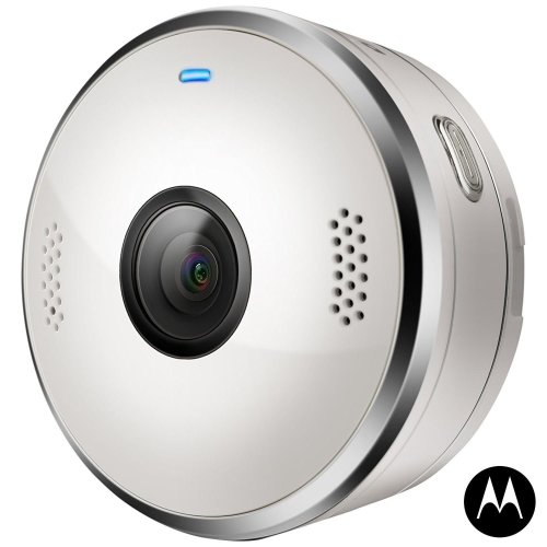 Motorola VerveCam+ Portable Live Streaming Casting Camera for Smartphone - White