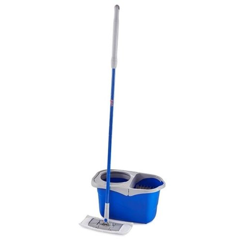Quickie 249856 Flat Spin Mop Bucket System