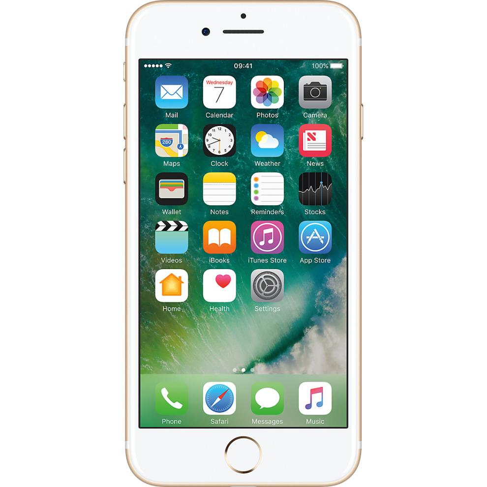 Three, 128GB Apple iPhone 7 - Gold