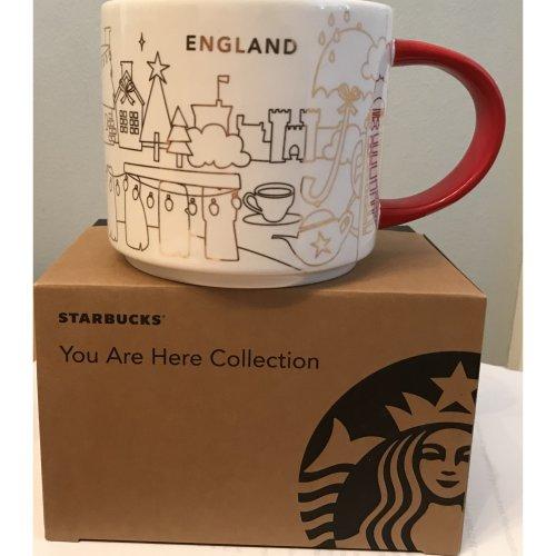 Starbucks You Are Here Christmas England 2018 Mug