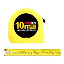 Tape Measure with End Hook, Metric Inch Dual System,10m/32 Ft