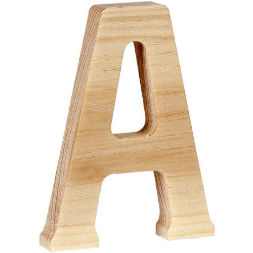 "Walnut Hollow Wood Letter 5""-A"