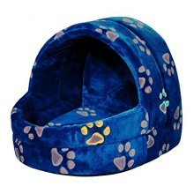 Trixie Jimmy Cuddly Cave For Dog, 40 x 35 x 35 Cm, Blue - Dogcm Bed -  x cave 35 trixie jimmy blue cuddly dog 40 cm bed
