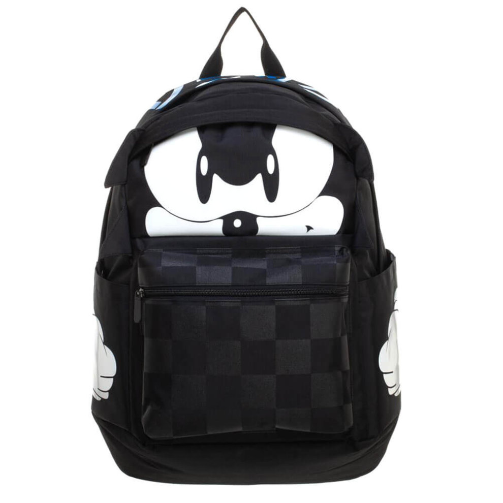 b606dbd24fc9 Sonic The Hedgehog Black Backpack