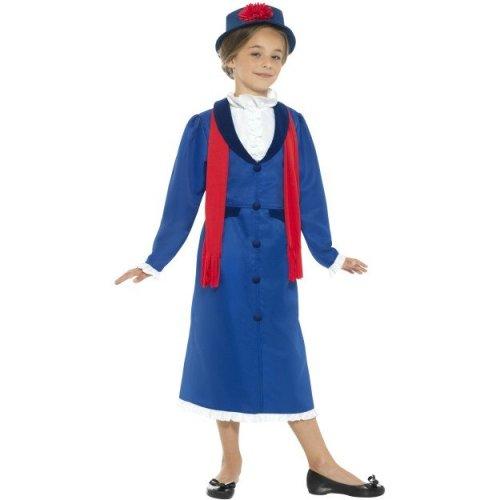 (Medium) Kids Victorian Nanny Costume