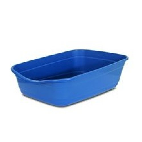 Giant litter pan for large breed and multi-cat households