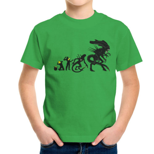 Alien Evolution Egg To Xenomorph Kid's T-Shirt