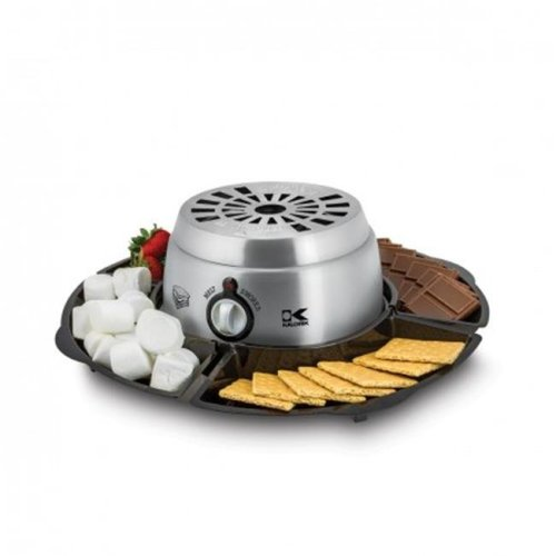 Kalorik CYM 42873 SS Stainless steel 2 in. 1 Smores Maker & Chocolate Melter