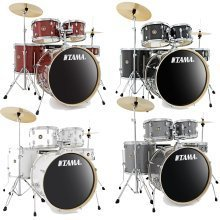 Tama Rhythm Mate 5 Piece Drumkit With Hi Hats And Crash/Ride Cymbal