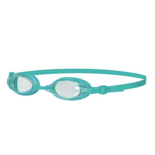 Speedo Jet Senior Womens Ladies UV Anti Fog Swimming Goggles - Clear/Teal