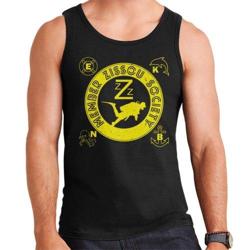 Life Aquatic Inspired Zissou Society Men's Vest