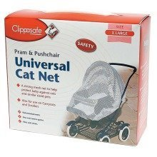 Clippasafe Universal Cat Net for Strollers & Pushchairs
