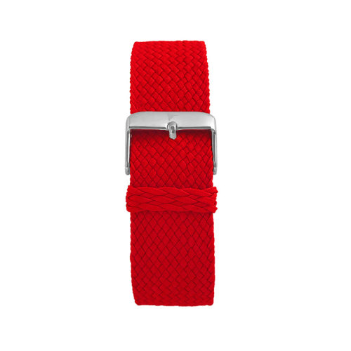 Wallace Hume Ferrari Red Men's Perlon Watch Strap