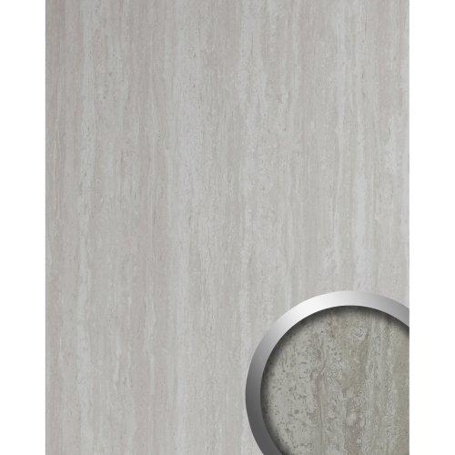 WallFace 19567 Antigrav TRAVERTIN Decor panel stone look matt grey 2,6 m2