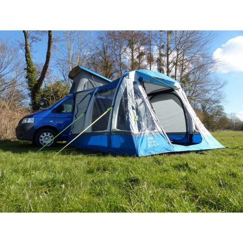 OLPRO Loopo Breeze XL Motorhome Driveaway Awning (Blue/ Grey)