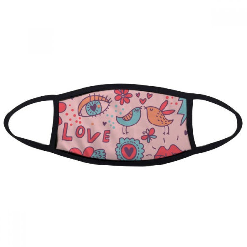 Lovers Flower Plant Paint Mouth Face Anti-dust Mask Anti Cold Warm Washable Cotton Gift