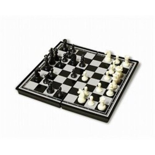 9.75 Inch Plastic Magnetic Chess Set
