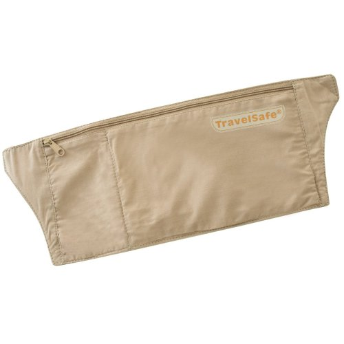 TravelSafe Basic MoneyBelt with Waterproof Liner