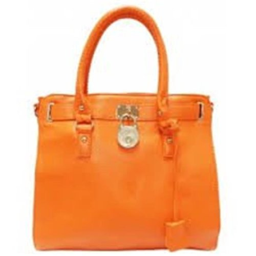 Art Fashions of Europe Y6031 ORG 14 x 6 x 13 in. Ronea UCCI Luxury Handbags, Orange