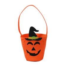 Trick Or Treat Halloween Party Decor Children Prop Candy Storage