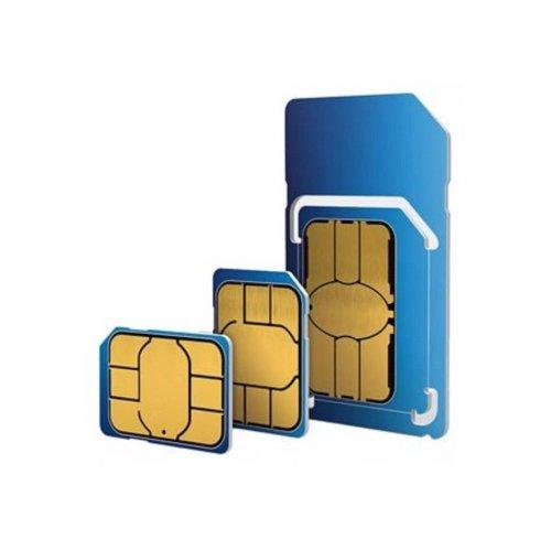 O2 Sim Card Pay As You Go 3p/Min 2p/SMS 1p/MB 3 in1 Micro Nano PAYG 02 2G 4G UK