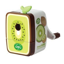 Fresh Fruit Manual Pencil Sharpener for Office and Classroom (Kiwi Fruit)