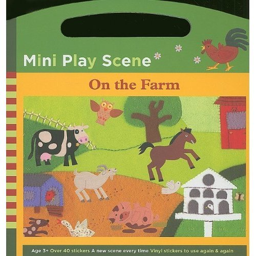 Mini Play Scene on the Farm