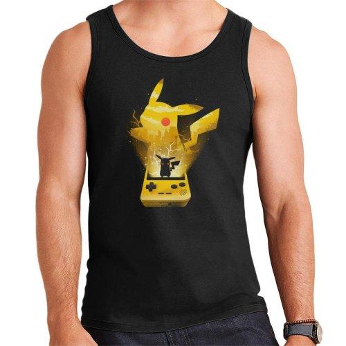 Pokemon Yellow Montage Men's Vest