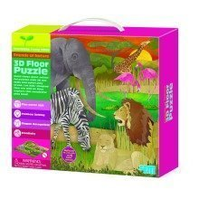 3D Floor Puzzles Safari - Young Minds