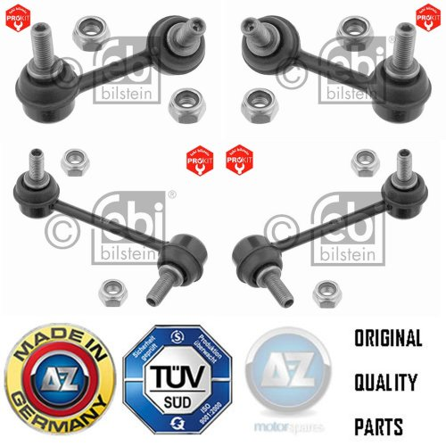 FOR HONDA ACCORD TYPE R 2.2 FRONT REAR ANTI ROLL BARS STABILISER DROP LINKS