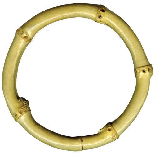 """Natural Bamboo Ring 3""""-Small"""