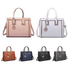 Miss Lulu Handbag Cross Body Shoulder Bag PU Leather Tote