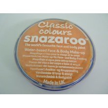 18ml Apricot Face & Body Paint - Snazaroo Colours Fancy Dress Classic Make Up -  face snazaroo paint 18ml colours body fancy dress classic make up
