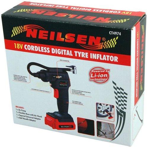 Digital Tyre Inflator  18v Cordless CT4974