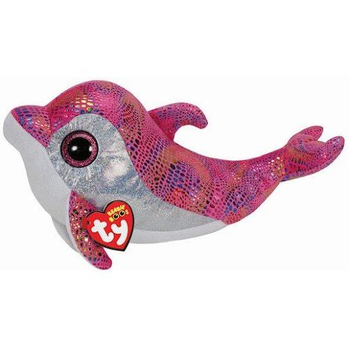 Ty Beanie Boo Buddy - Sparkles the Dolphin Soft Toy