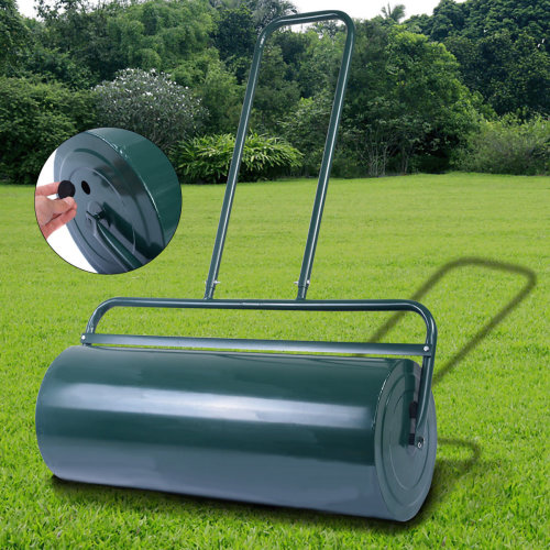 48L HEAVY DUTY METAL WATER LAWN ROLLER